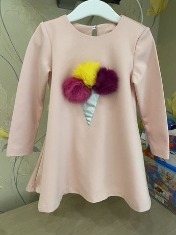Платье мороженко