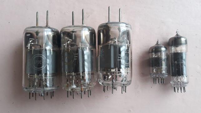 Лампа 6Р3С с усилителя звука