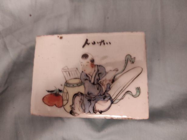 Caixa Chinesa antiguidade comprada em Cantão China