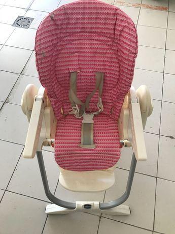 Cadeira de Bébé cor de rosa