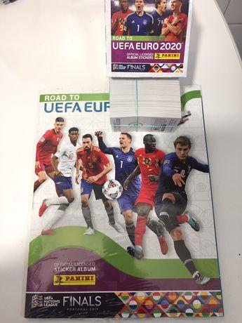 Coleção completa ROAD UEFA 2020 com cromos novos
