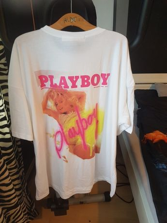T-shirt sukienka playboy missguided r xl