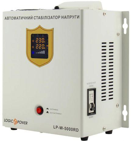 Стабилизатор напряжения LogicPower LP-W-5000RD (3000Вт / 7 ступ)