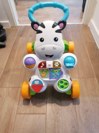 Zebra chodzik zabawka interaktywna.