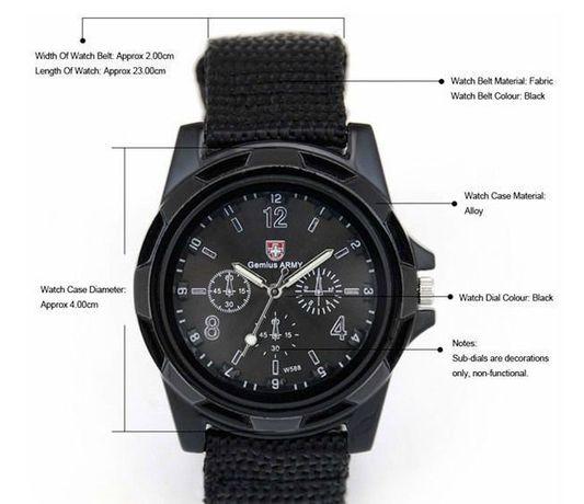 Z170 Relógio de Pulso Militar - Genius Army