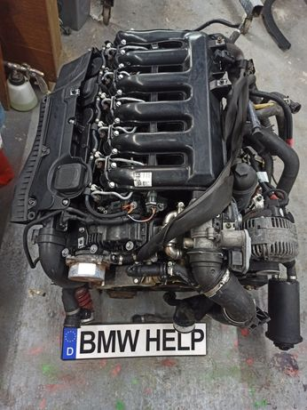 Двигатель БМВ М57 D30 N2 Дизель Е70 Е71 Разборка BMW HELP