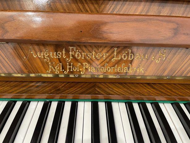 Pianino antyk August Förster