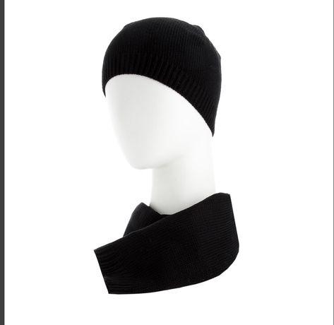 Черный мужской шарф VIF (bags ets)
