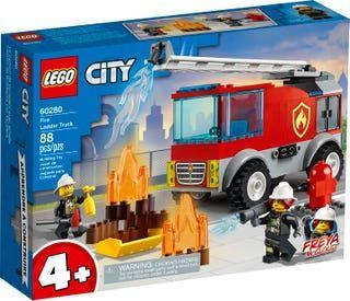 Lego 60280 City - Camião Bombeiros c/escada - NOVO