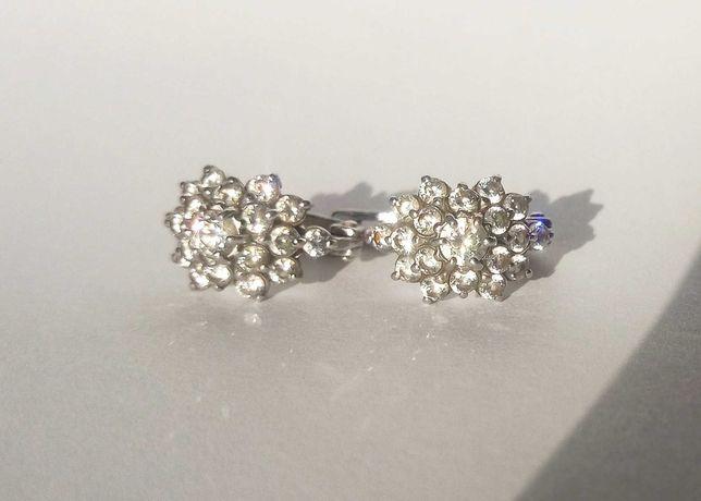 Серьги серебро,серебряные сережки