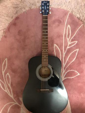 Гитара cort ad 810 bks(черный цвет)+чехол+кападастр