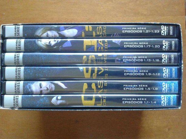 Série de TV CSI Las Vegas - 1ª temporada (6 DVDs - BAIXA DE PREÇO!)