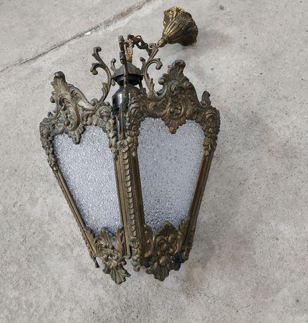 !Nowa cena! Lampa wisząca mosiężna