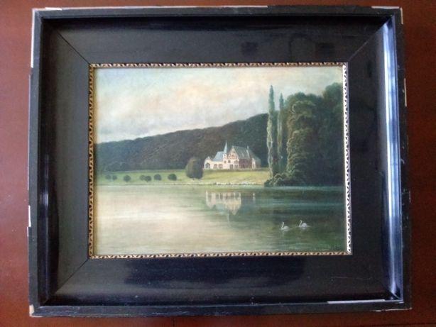 Do sprzedania 100 letni obraz olejny na półtnie