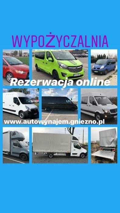 Wynajem wypożyczenie samochodu wypożyczalnia samochodów busa busów aut Czerniejewo - image 1