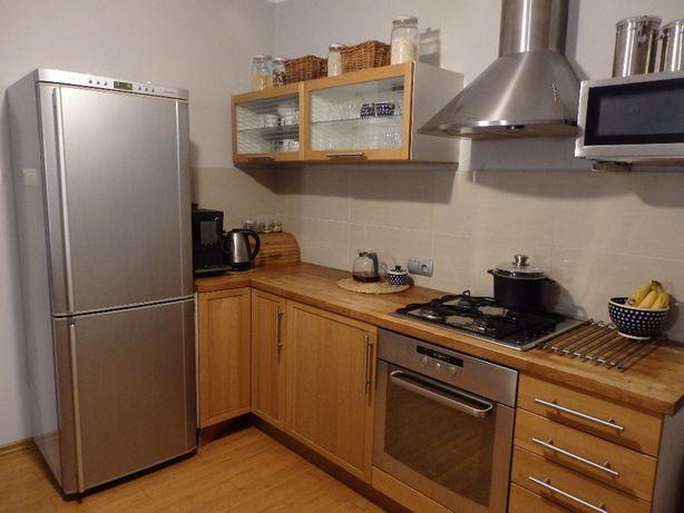 Meble kuchenne kuchnia Ikea + sprzęt AGD+ blaty dębowe