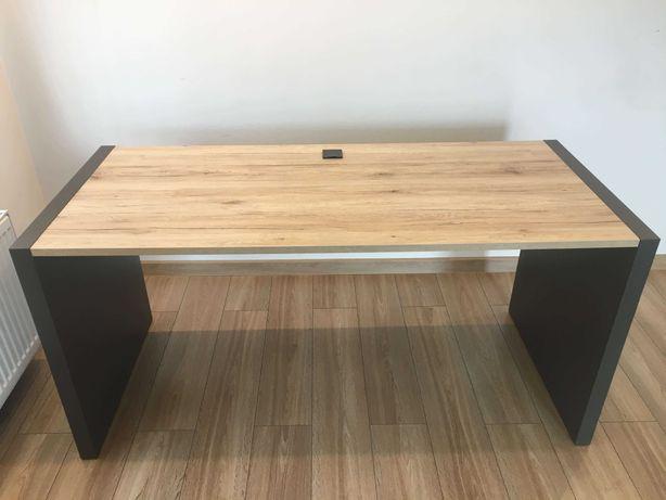 Szerokie biurko - 160cm, nieużywane w bardzo dobrym stanie