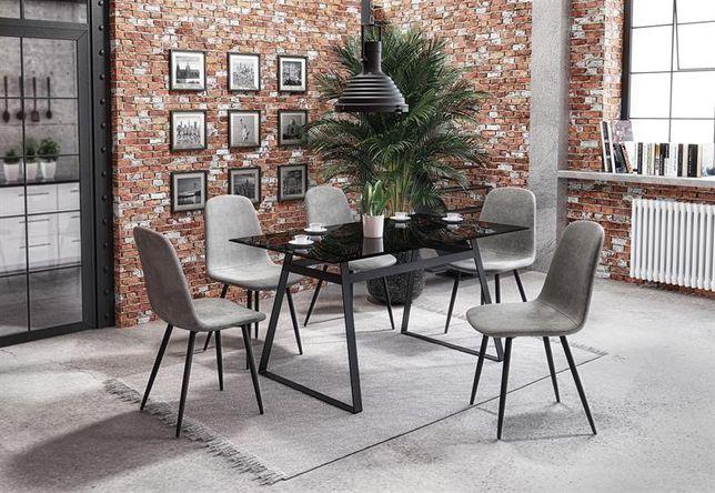 HERALD – stół szklany stół industrialny stół loft DOWÓZ GRATIS ! Raty