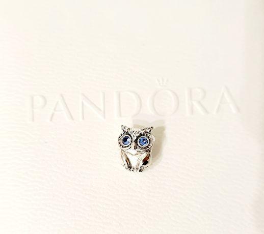 Charms Sowa srebro próba 925 do Pandora,Apart,Yes