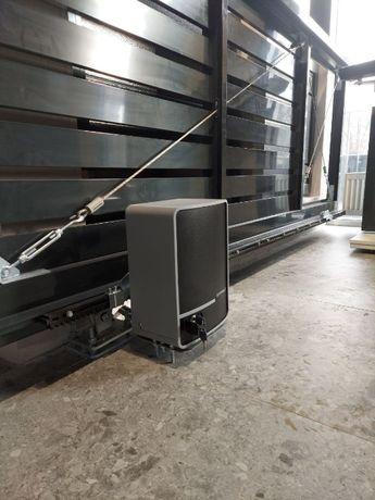 Автоматика для ворот найс гант алютех ротели милер сегмент