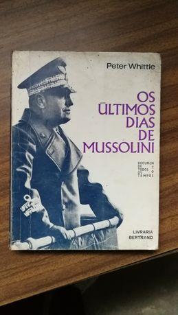 Livro Mussolini antigo