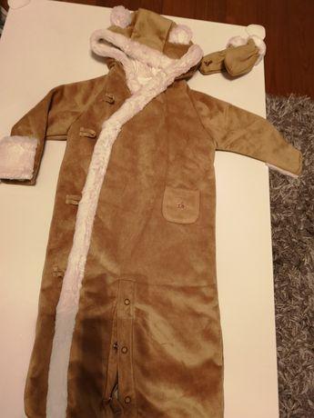 Nowy Kombinezon baby GAP r. 74 +rękawiczki, z metkami milutki