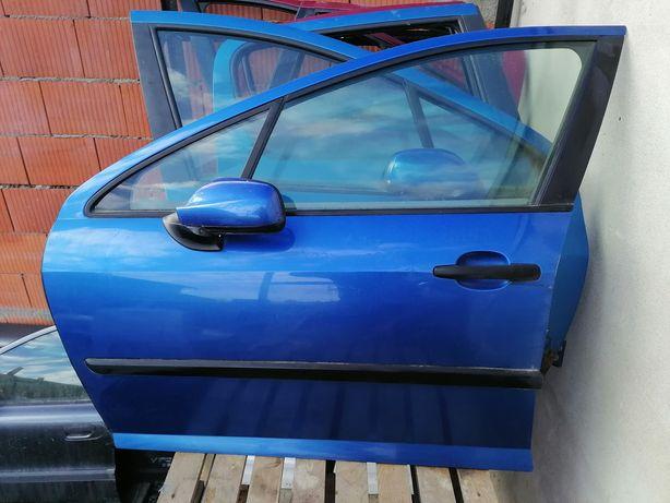 Peugeot 407 5d drzwi lakier kmnd lewy prawy przód tyl