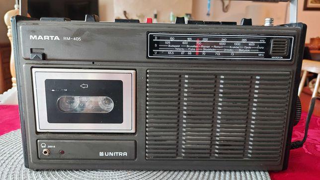Radiomagnetofon Marta - klasyk PRL