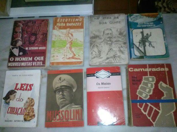 Conjunto de 32 Livros Diversos