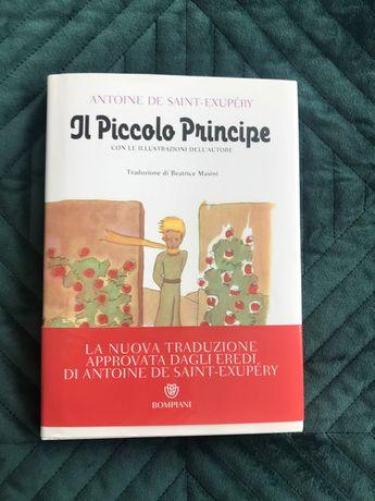 Książka Mały książę po włosku