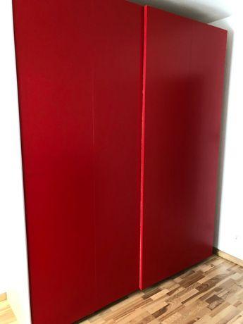 Czerwone drzwi do Pax HASVIK 200x236 cm