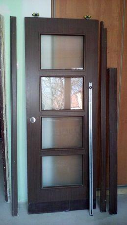 Drzwi przesuwne lewe