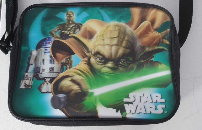 Star Wars 3D torba na ramię listonoszka Mistrz Yoda, R2-D2, C-3PO