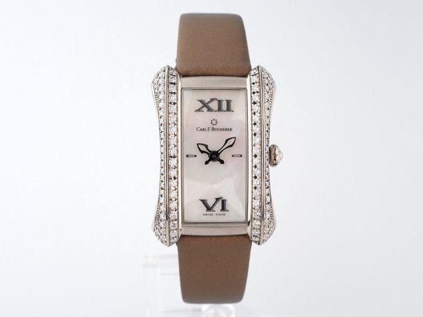 Женские бу часы Carl F.Bucherer Alacria Midi 18K Gold Diamonds 26x38мм