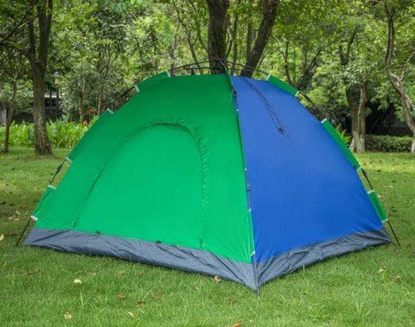 Палатка автоматическая 2-х местная Синяя Размер 1,5х2 метра