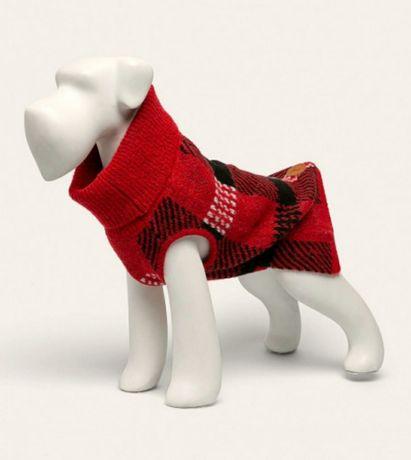 Nowy sweter dla pupila czerwony Medicine