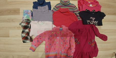 Paka ubrań jesienno zimowych r.104