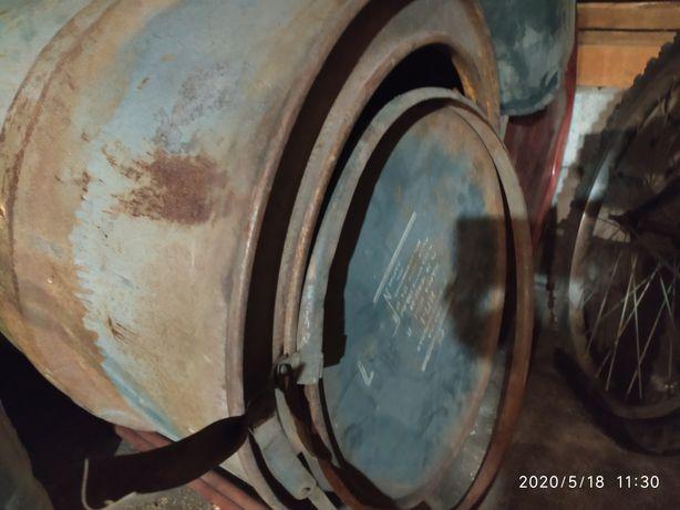 Бочка с крышкой под воду или сыпучие