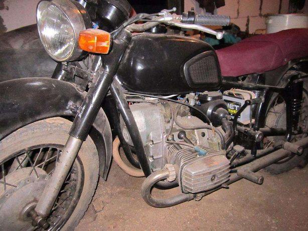 Мотоцикл МТ 9 с хорошей резиной