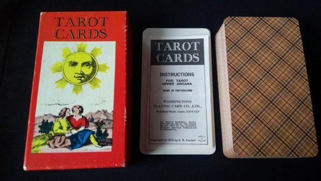 Карты Таро Коллекционные! 1 JJ Tarot Cards (Швейцарское Таро) 70 г