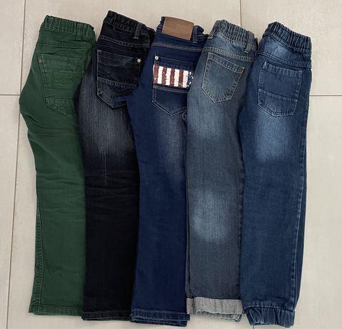 Spodnie chlopięce mega paka z gratisami