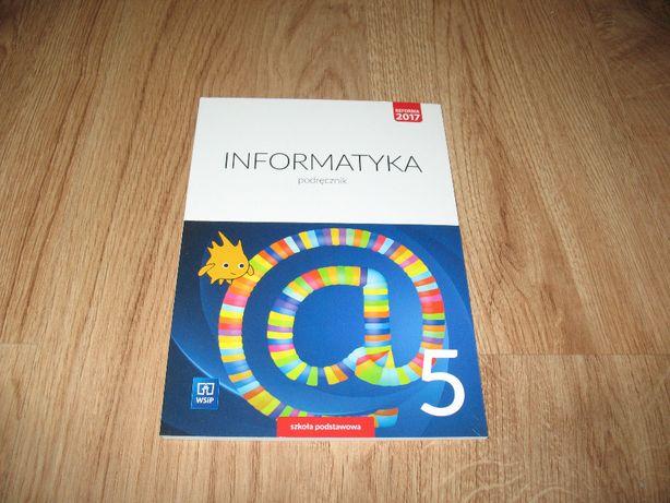 Informatyka 5. Podręcznik dla kl. 5 SP (KSIĄŻKA)