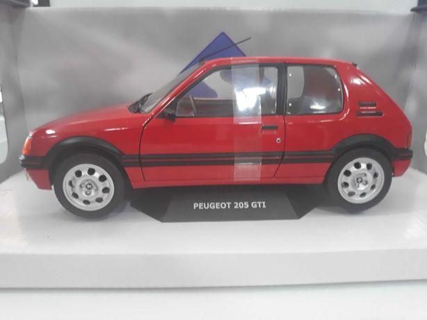 Miniatura colecção Peugeot 205 GTI 1/18