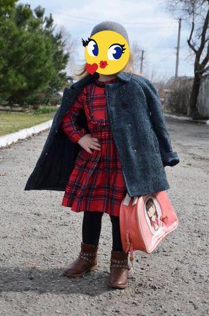 Модное теплое пальто NAF NAF