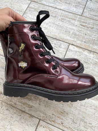 Ботинки с мехом 35 размер