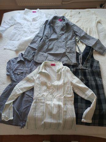 Ubrania ciążowe sukienki bluzki