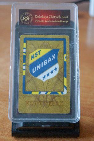 !OKAZJA! Złota karta kolekcjonerska KST UNIBAX