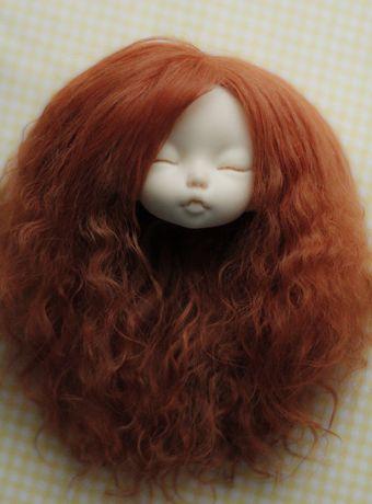 Bjd, pukifee 1/8. Wig lama naturalna