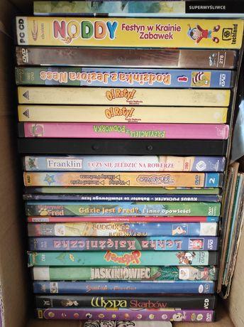 Sprzedam bajki na DVD