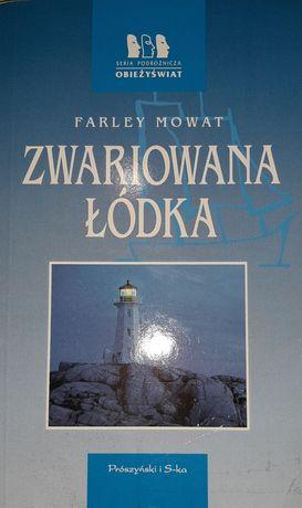 Farley Mowat - Zwariowana łódka. Seria Obieżyświat